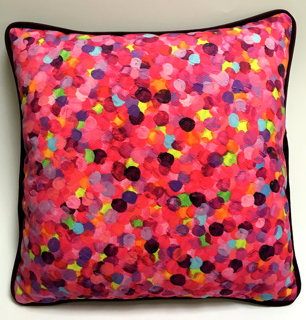 Candy Pink Cushion