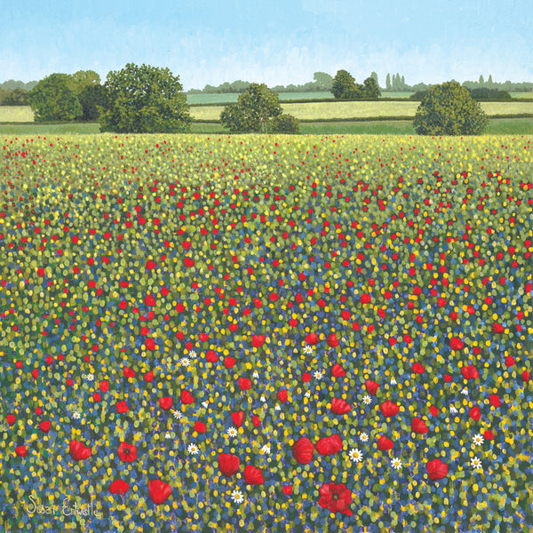 Poppy Fields limited edition print