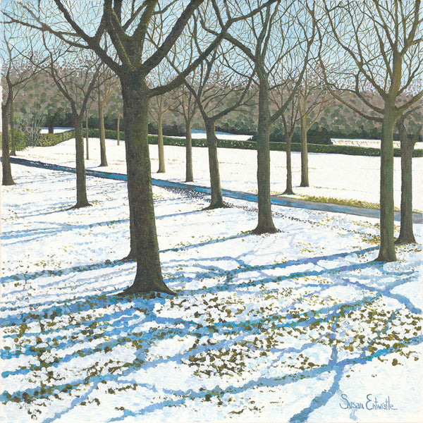 Snow in the Park card
