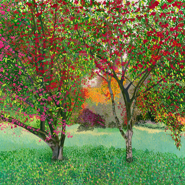 Spindle Trees card