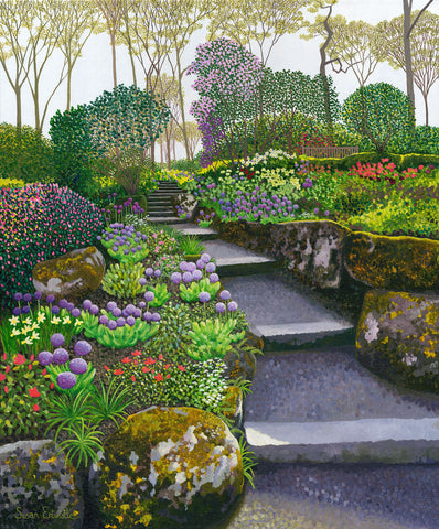 Spring at Harlow Carr limited edition print
