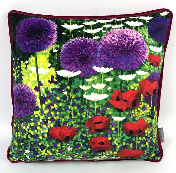 Summer Flower Garden Cushion NEW DESIGN