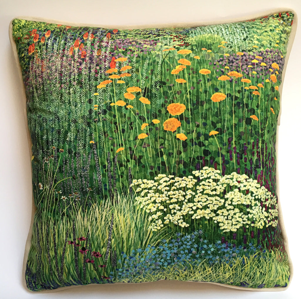 The Garden Path Cushion