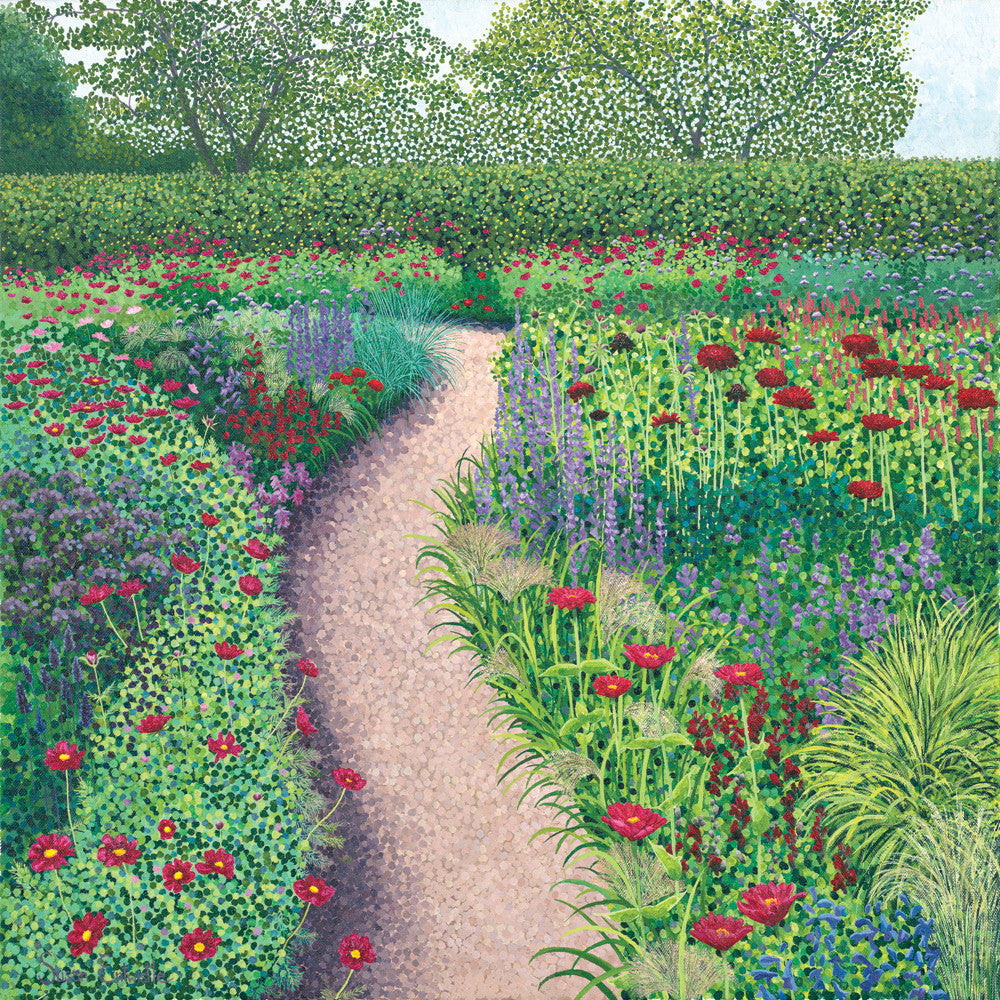 The Garden Walk limited edition print