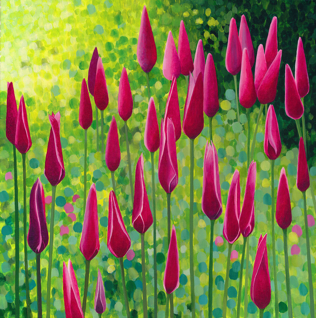 Peppermintstick Tulips limited edition print