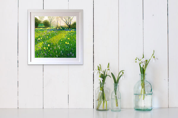 Crocus & Daffodils - Signed Edition Print