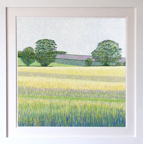 Barley Fields Signed Edition Print