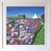 Hydrangeas in Vannes Signed Edition Print