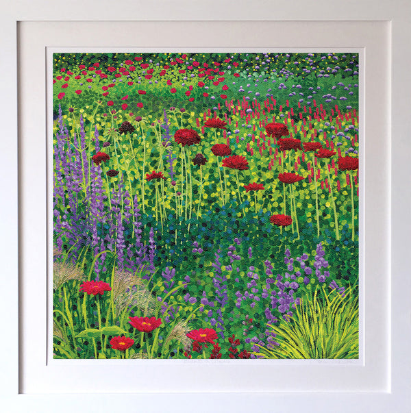Jewel Garden Signed Edition Print