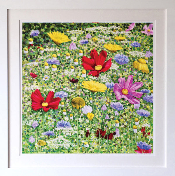 Wildflower Meadow Signed Edition Print