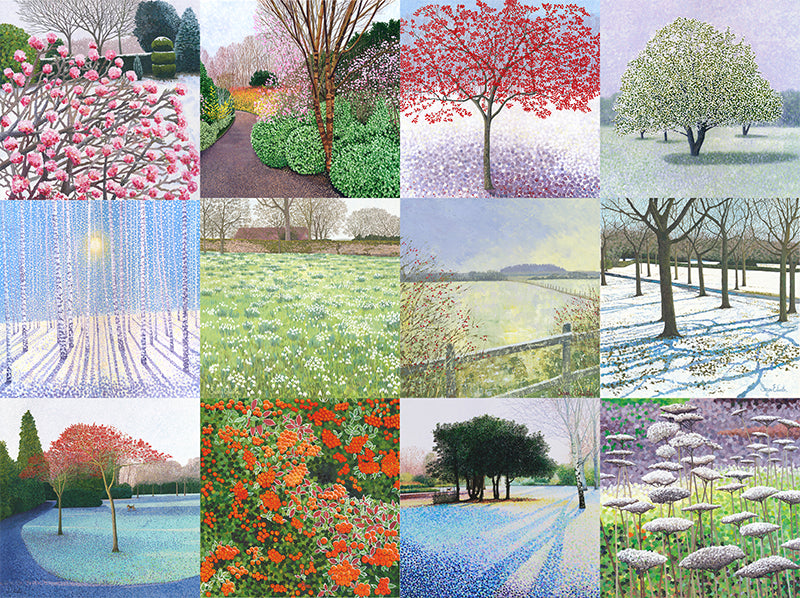 Buy 12 Winter Art Cards - Get £3.40 off your order