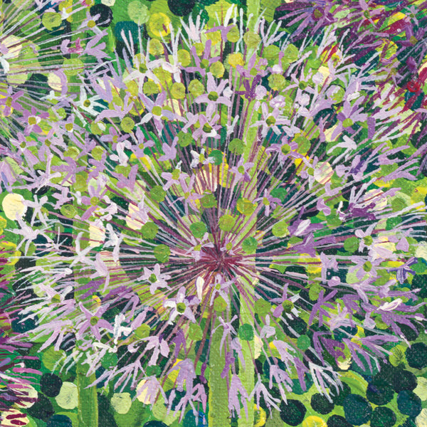 Allium Christophii card