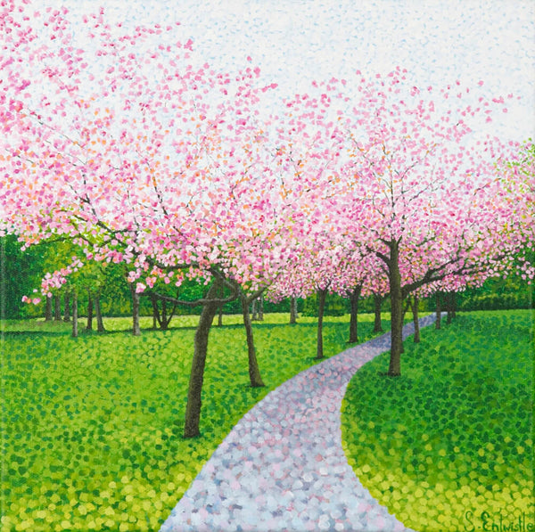 Cherry Blossom limited edition paper print