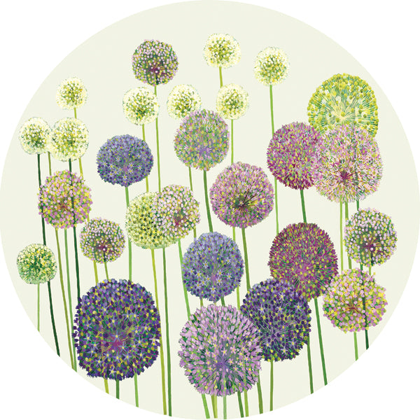 Allium placemat pack of 4