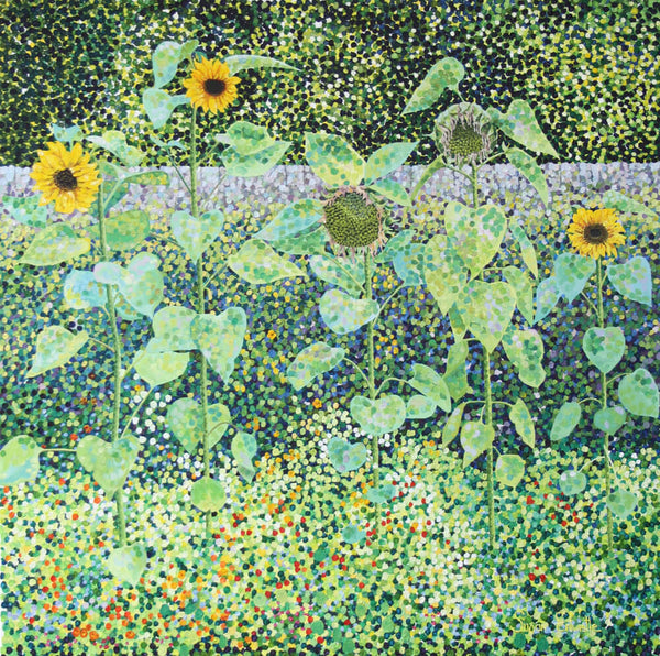 Sunflowers limited edition paper print