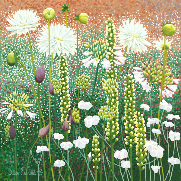 The White Garden limited edition print