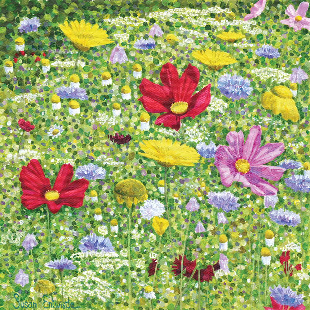 Wildflower Meadow card