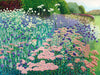 Wisley Border limited edition print