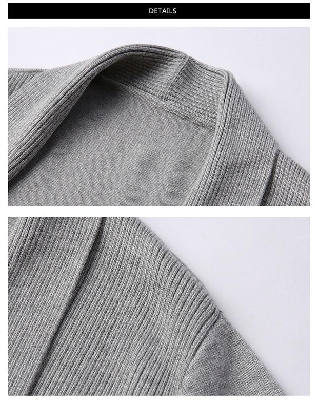Men's Slim Cardigan - ByDivStore