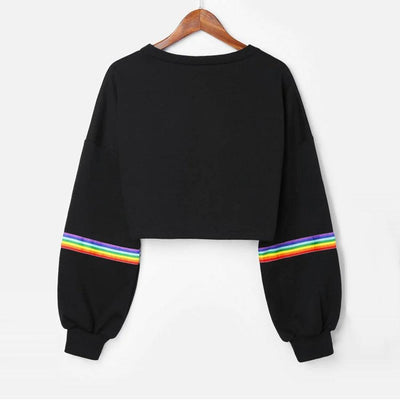 Women's Striped Sweatshirt - ByDivStore