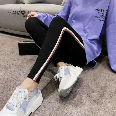 Women's Slim Fitness Streetwear Leggings