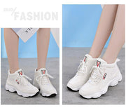 Women's Leather Outdoor Sneakers - ByDivStore