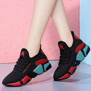 Women's Lace-Up Breathable Sneakers - ByDivStore