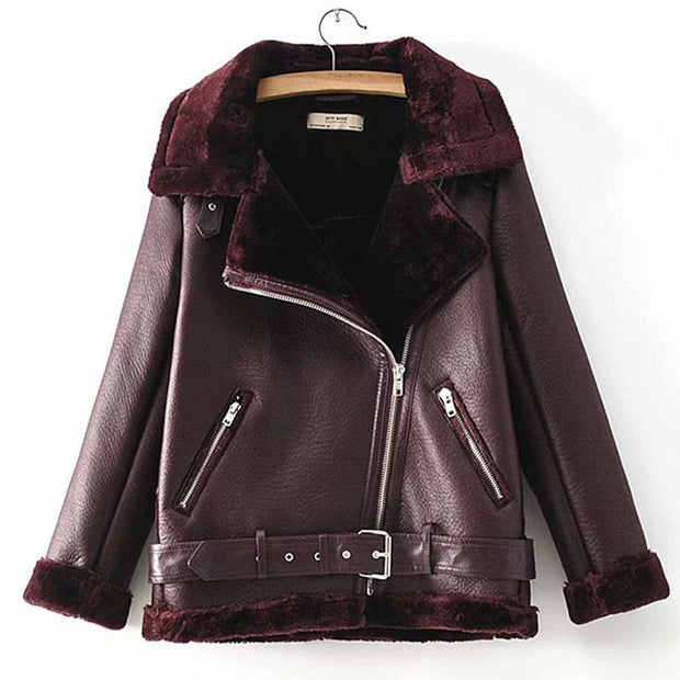 Women's Fur Velvet Jacket