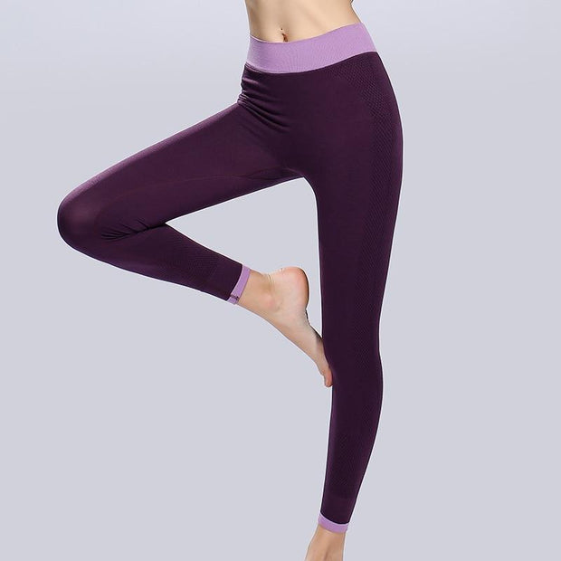 Women's High Waist Sports Yoga Pants - ByDivStore