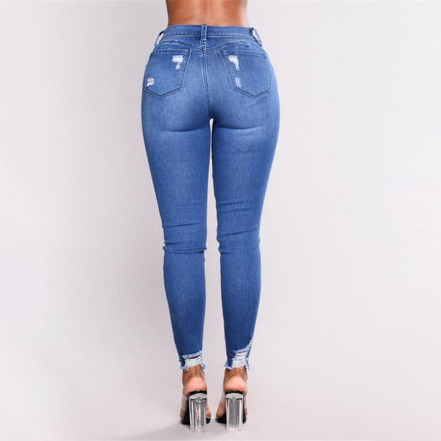 Women's Slim High Waist Pencil Pants - ByDivStore
