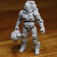 """Astro Engineer"" 3D printable action figure file"