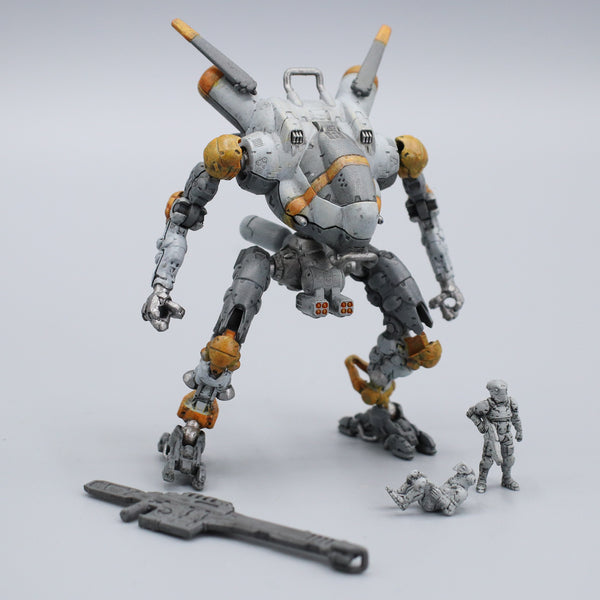 "Pocket Mech ""Vulture"" 3D printable action figure file"