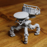 """M.U.L.E."" 3D printable action figure file"