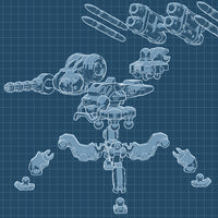 """M.A.R.V."" 3D printable action figure file"