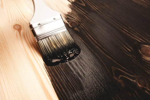 Re-stain the wood