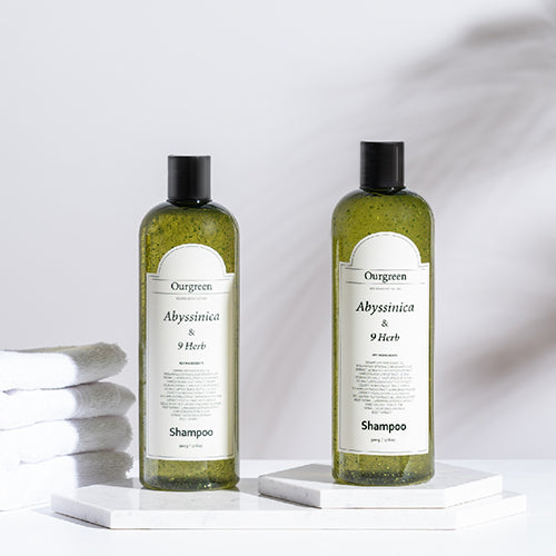 Ourgreen Abyssinica and 9 Herb Shampoo