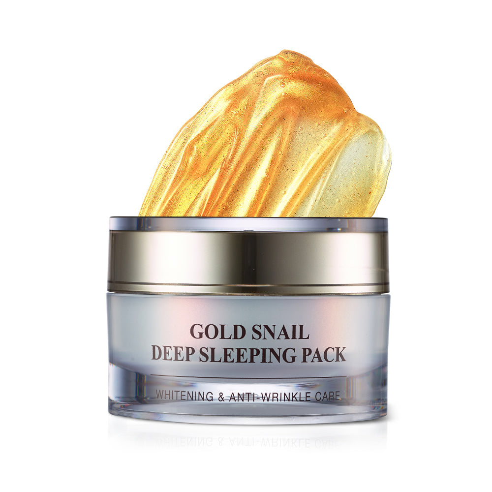 Gold Snail Deep Sleeping Pack