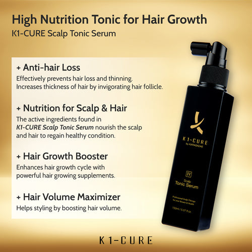 K1-Cure Scalp Tonic Serum