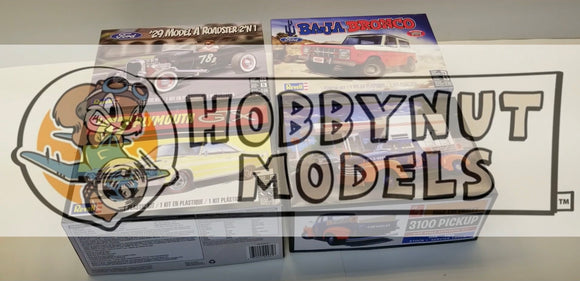 "Check out the ""Model Car Videos"" new YouTube video review of some kits he got here."