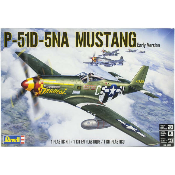 1/32 Revell P51D5NA Mustang Early Version US Fighter