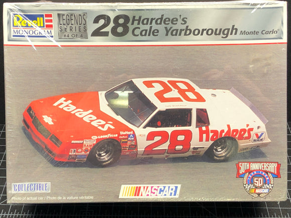 1/24 Revell #28 Hardee's Cale Yarborough