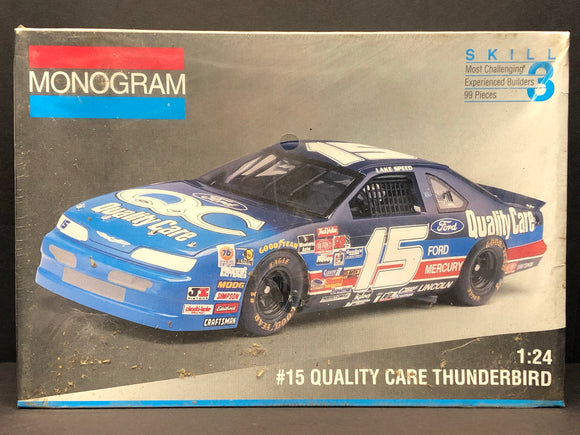1/24 Monogram Lake Speed #15 Quality Care 1994 Thunderbird 2451