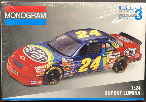 1/24 Monogram #24 Jeff Gordon Dupont 1993 Lumina