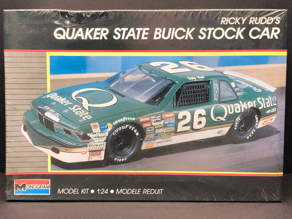 1/24 Monogram Ricky Rudd #26 Quaker State Buick Stock Car