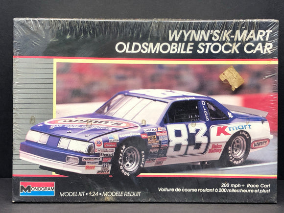 1/24 Monogram Lake Speed #83 K-mart 1988 Oldsmobile 2779