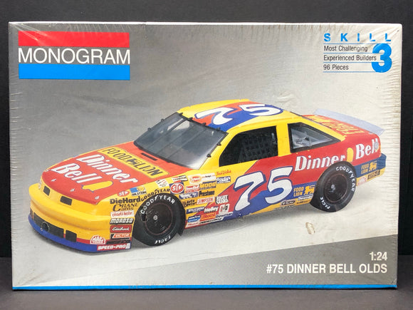 1/24 Monogram Joe Ruttman #75 Food Lion / Dinner Bell 1992 Oldsmobile 2432