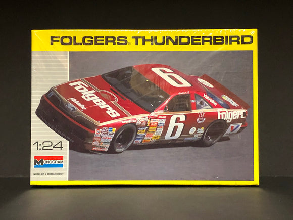 1/24 Monogram Mark Martin #6 Folgers 1990 Ford Thunderbird