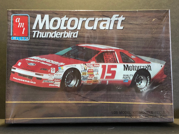 1/25 AMT/ERTL Motorcraft #15 Morgan Shepherd 1990 Ford Thunderbird