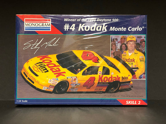 1/24 Monogram #4 Kodak Sterling Marlin 1995 Daytona Winner Monte Carlo