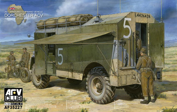1/35 AFV Club AEC Dorchester ACV Armored Command Vehicle